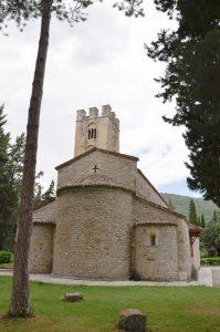 Roccavivara Santuario Madonna del Canneto - esterno